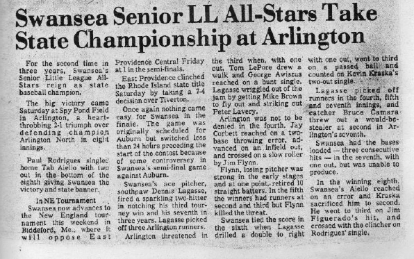 1975 All Stars article